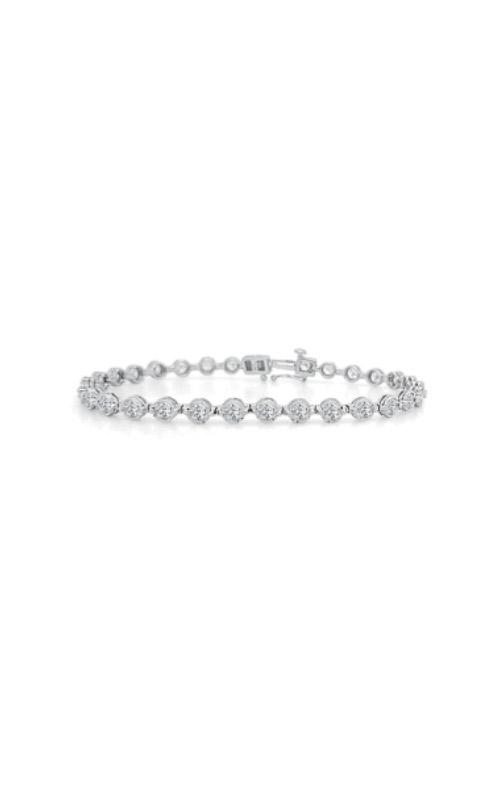 Albert's 14k White Gold 1ctw Diamond Bracelet 2IBR1 product image