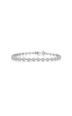 Albert's 14k White Gold 1ctw Diamond Bracelet 2IBR1 product image
