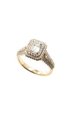 Albert's 14k Yellow Gold 1.37ctw Emerald Engagement Ring 2RG77/ER11072 product image