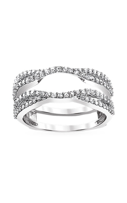 Albert's 14k White Gold Diamond 1/2ctw Ring Guard 3510010504W-03 product image