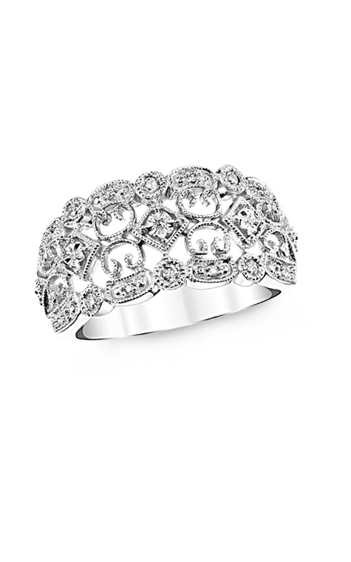 Albert's Sterling Silver 1/10ctw Filigree Fashion Ring 2522790127W product image