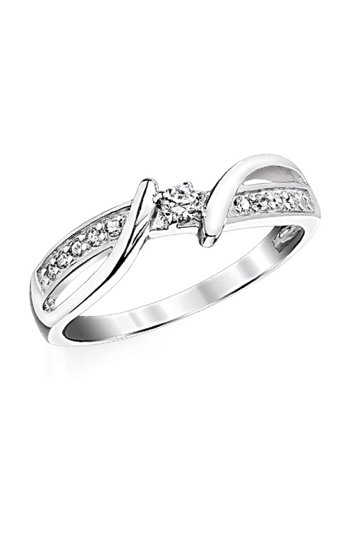 Albert's Sterling Silver 1/6ctw Diamond Fashion Ring RLD3445 product image