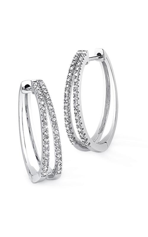 Albert's 10k White Gold Hoop Earrings JX7930-FA10W product image