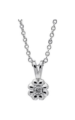 Albert's Sterling Silver Child Flower Necklace P226 product image