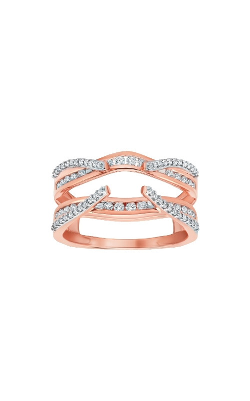 Albert's 14k Rose Gold 1/2ctw Diamond Guard Band 3510320504P product image