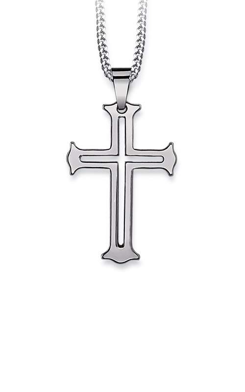 Albert's Tungsten & Sterling Silver Cross TGP300700 product image