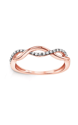 Albert's 10k Rose Gold Diamond Infinity Ring 2518010100P product image