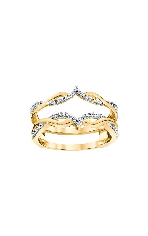Albert's 14k Yellow Gold 1/5ctw Diamond Guard Band 3510620204Y-01 product image