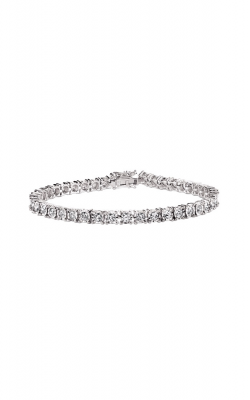 Albert's 14k White Gold 1ctw Diamond Bracelet 974BRIB product image