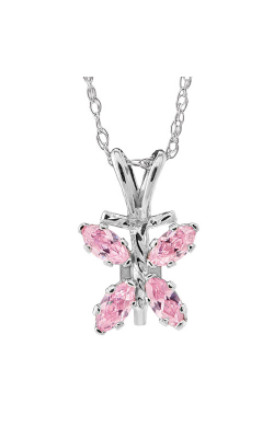 Albert's Sterling Silver Child Butterfly Necklace P 201 product image