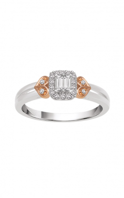 Albert's 10k Two Tone Diamond Promise Ring RE-6203-A44-10T product image
