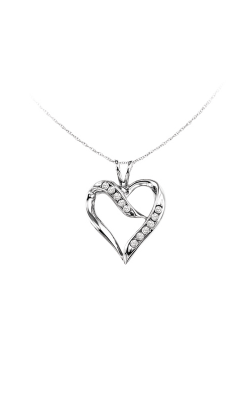 Albert's Silver Heart Necklace FP1192 product image