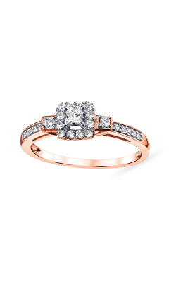 Albert's 10k Rose Gold 1/3ctw Diamond Promise Ring RE-2631-A67-10P product image