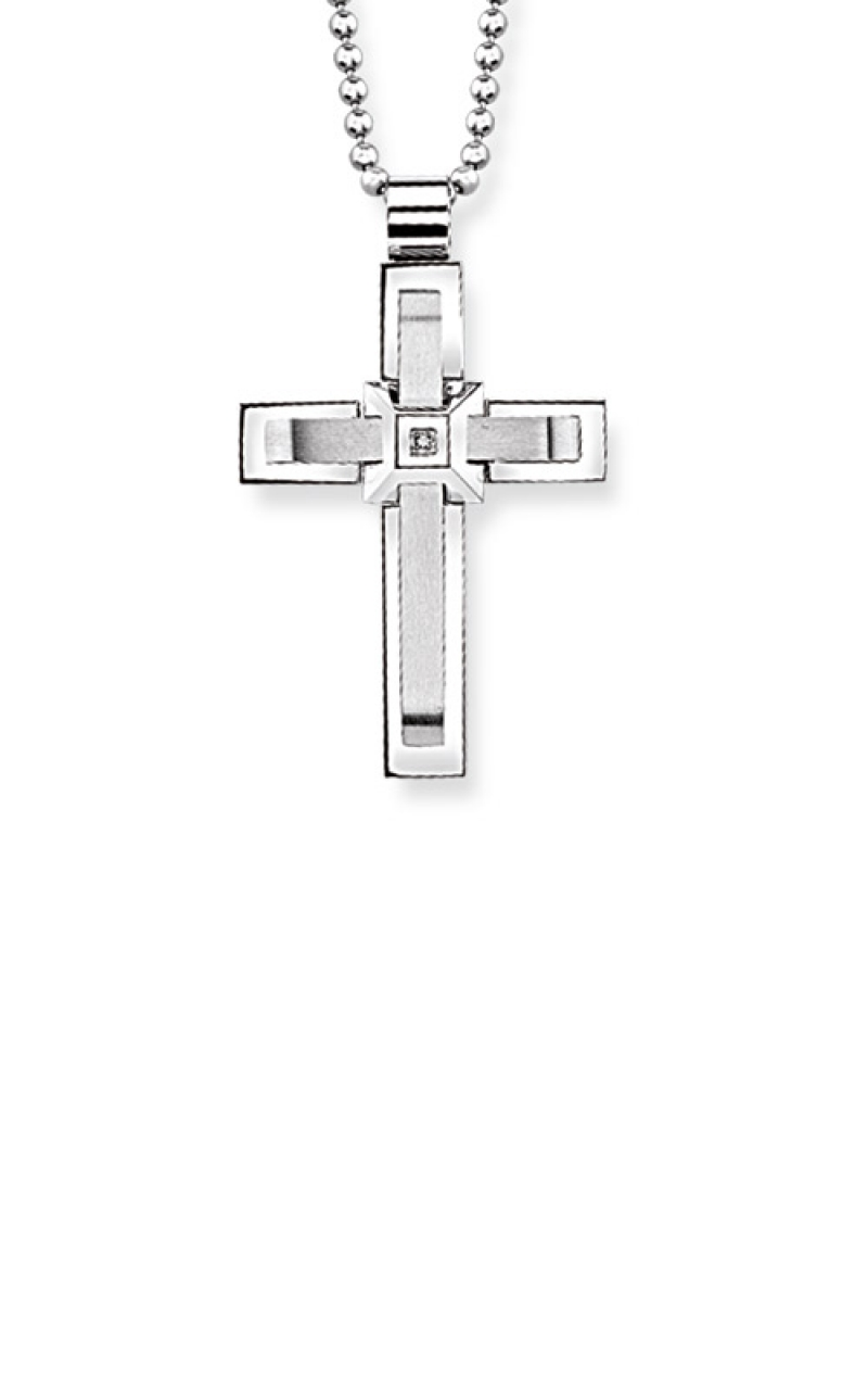 Albert's Stainless Steel Cross BS5181-SS-CZ product image