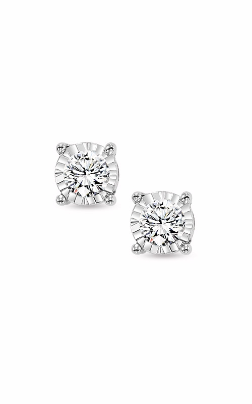 Albert's 14k White Gold 3/4ctw Diamond Stud Earrings FE1259-70 product image
