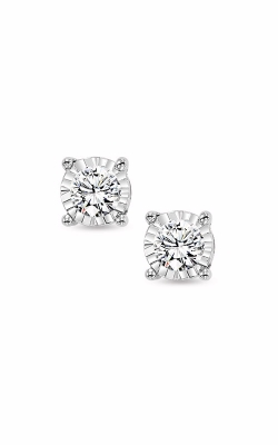 Albert's 14k White Gold 3/4ctw Diamond Stud Earrings FE1259-70 product image