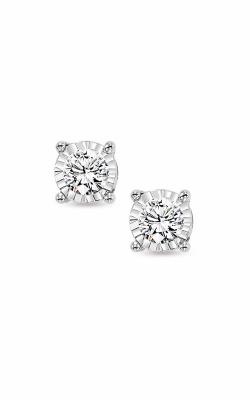 Albert's 14k White Gold 1ctw Diamond Stud Earrings FE1259-100 product image