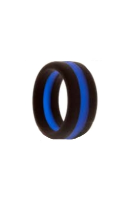 Albert's Police Silicone Band Size 10 POLICESILICONE-10 product image