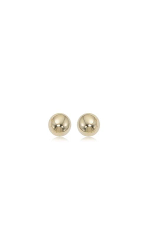 Albert's 14k Yellow Gold 6mm Ball Earrings 12-123 product image