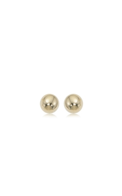 Albert's 14k Yellow Gold 6mm Ball Earrings 12-123 product image