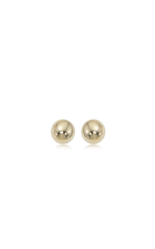 Albert's 14k Yellow Gold 7mm Ball Stud Earrings 12-130 product image