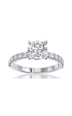 Albert's Engagement Ring 69156D-14KW-3-4 product image
