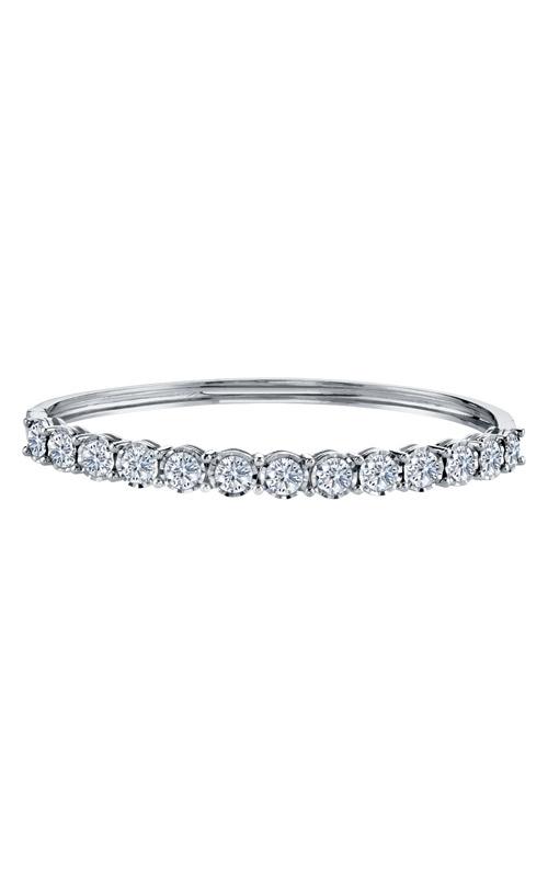 Albert's 14k White Gold 3.00ctw Diamond Bangle 279BGC product image