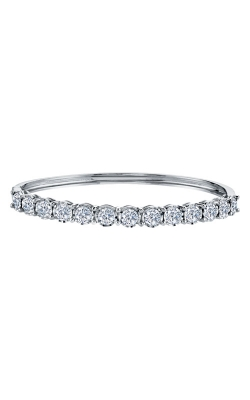 Albert's 14k White Gold 3.00ctw Diamond Bangle 279BGC product image