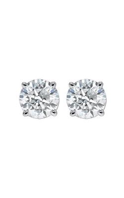 Albert's 14k White Gold 1/2ctw Round Diamond Stud Earrings ER10094 product image