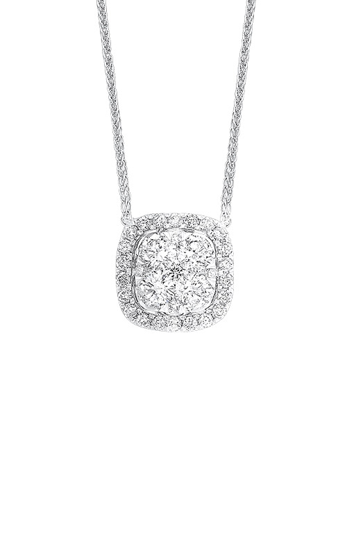 Albert's 14k White Gold 1/2ctw Diamond Necklace NK10083-4WC product image