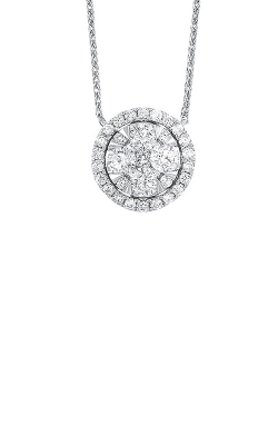Albert's 14k White Gold 1/4ctw Diamond Necklace NK10073-4WC product image