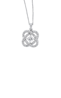 Albert's Sterling Silver 1ctw Diamond Necklace PD10457-4WF product image