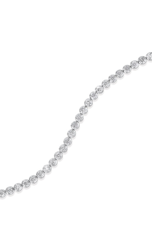 Albert's 14k White Gold 2ctw Diamond Bracelet FB1152 product image