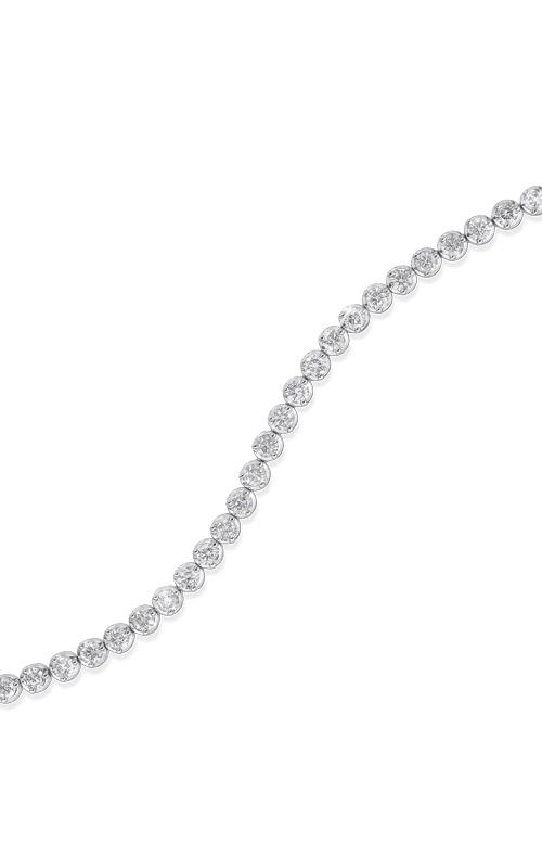 Albert's 14k White Gold 5ctw Diamond Bracelet FB1136 product image
