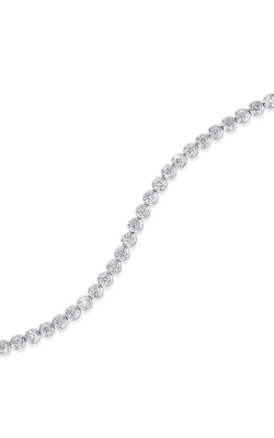Albert's 14k White Gold 5ctw Diamond Bracelet FB1136 product image