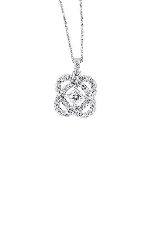 Albert's 14k White Gold 1/2ctw Diamond Necklace PD10455-4WF product image