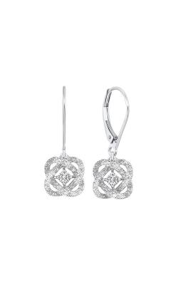 Albert's 14k White Gold 1/2ctw Diamond Earrings ER10447-4WF product image