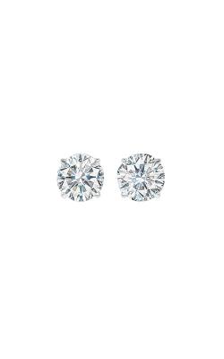 Albert's 14k White Gold 2ctw Round Diamond Stud Earrings SE3200-4WF product image