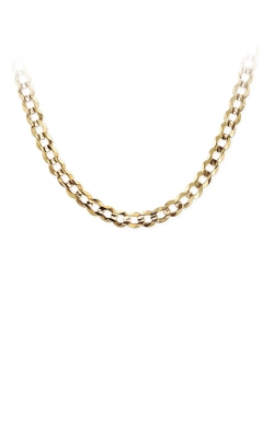 Albert's 10k Yellow Gold 22in Light Curb Chain 371-150-22 product image