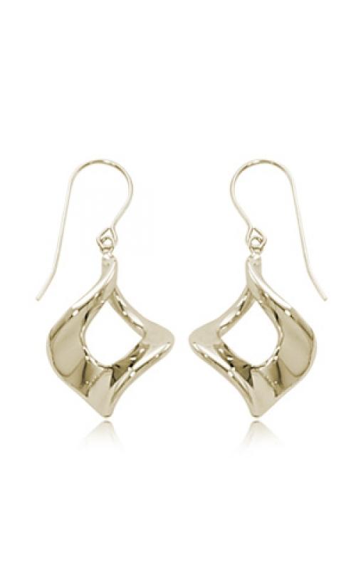 14k Yellow Gold Dangle Earrings product image