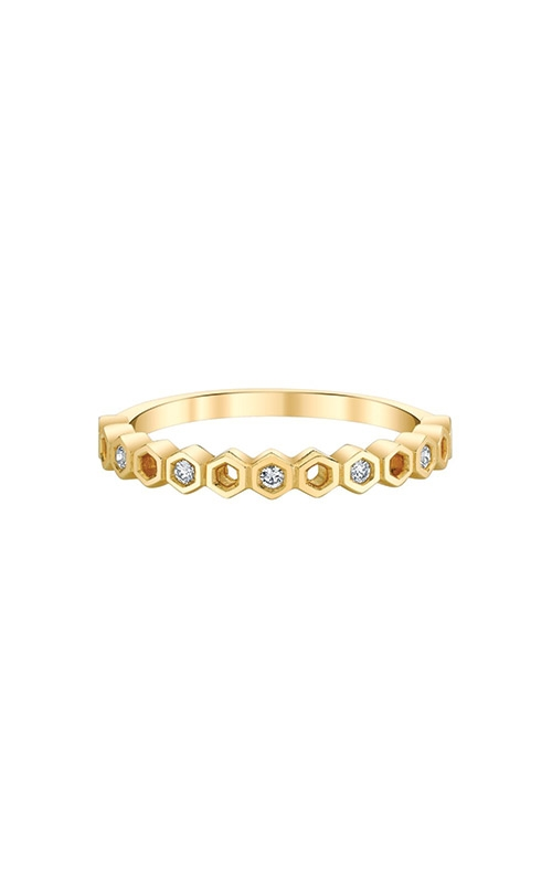 Albert's 10k Yellow Gold .10ctw Diamond Fashion Band 4214530107Y product image