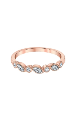 Albert's 10k Rose Gold 1/8ctw Diamond Band 4214720150P-MG  product image