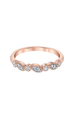 Albert's 10k Rose Gold 1/8ctw Diamond Band 4214720150P-MG  product image