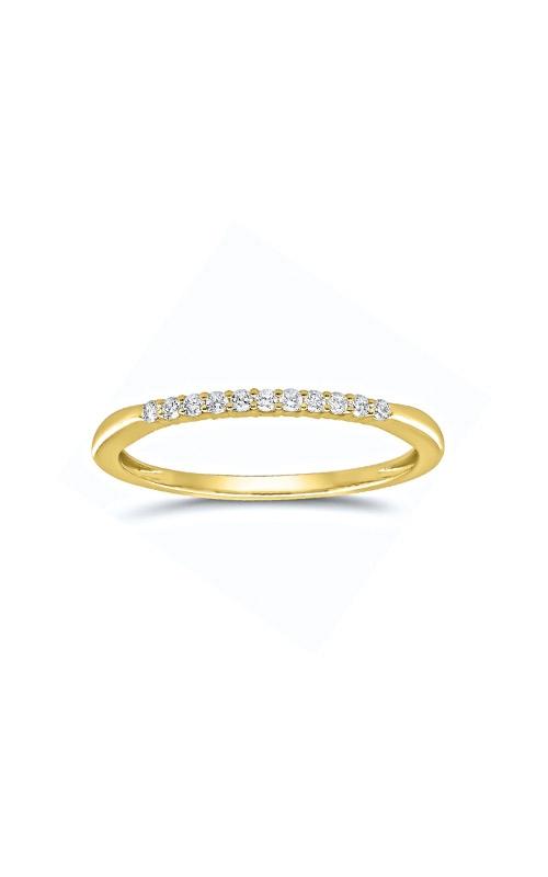Albert's 14k Yellow Gold .10ctw Round Diamond Wedding Band 4215260100Y product image