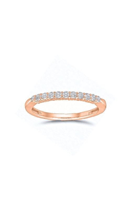 Albert's 14k Rose Gold 1/4ctw Round Diamond Wedding Band 4215260254P product image
