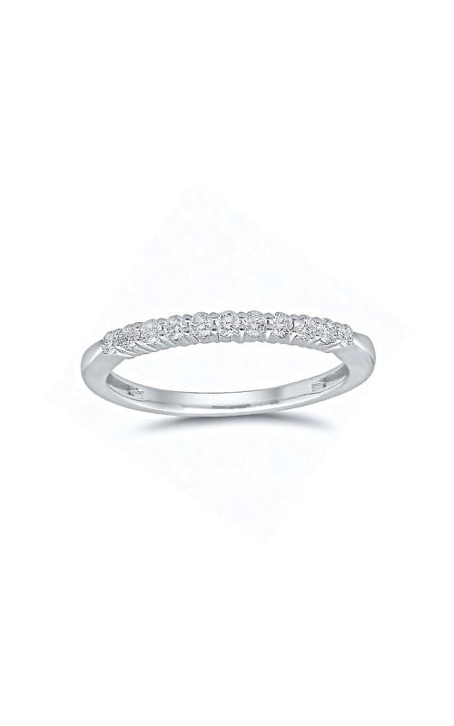 Albert's 14k White Gold 1/4ctw Round Diamond Wedding Band 4215260254W product image