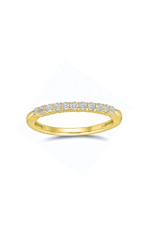 Albert's 14k Yellow Gold 1/4ctw Round Diamond Wedding Band 4215260254Y product image
