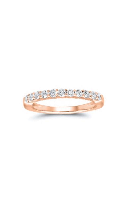 Albert's 14k Rose Gold 1/2ctw Round Diamond Wedding Band 4215260504P product image