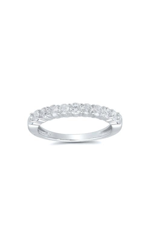 Albert's 14k White Gold 3/4ctw Round Diamond Wedding Band 4215260754W-01 product image