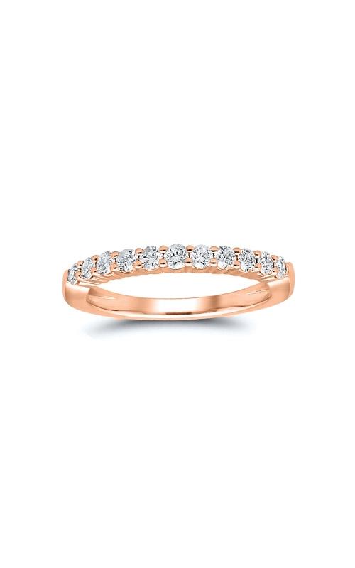 Albert's 14k Rose Gold 1ctw Round Diamond Wedding Band 4215261004P product image